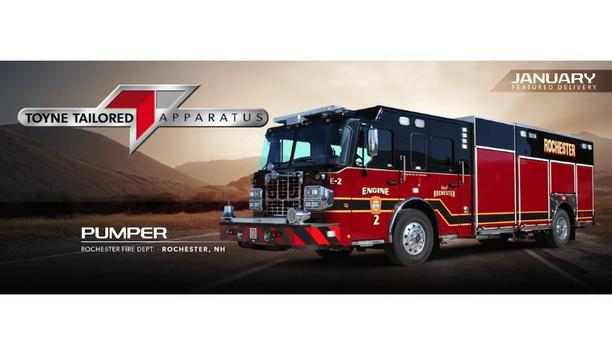 Toyne Provides Pumper Vehicle To The Rochester Fire Department To Handle Emergency Situations Efficiently