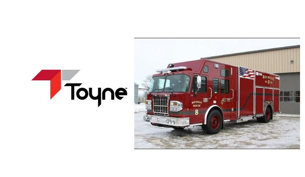 Toyne Provides A New Rescue/Pumper Vehicle To The Rochelle Fire Department As An Upgrade To Their Current Apparatus