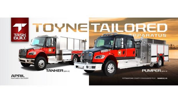 Toyne Provides Four Pumpers And Four Tankers To Enhance Emergency Response For Pottawatomie County Consolidated Fire District