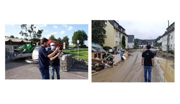 Télécoms Sans Frontières (TSF) And Inmarsat Deploy Resources To Germany To Aid In Rescue Efforts For Flood Victims