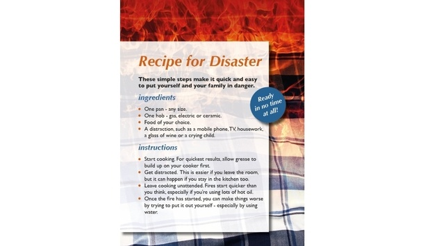 Tyne And Wear Fire And Rescue Service Shares Its 'Recipe For Disaster' To Keep People Safe From Kitchen Fires