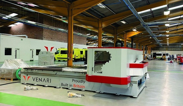 Venari Group Emergency Vehicle Manufacturer Invests In New Machinery