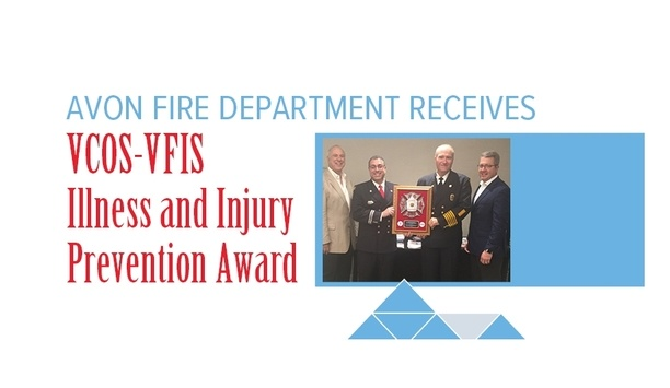 VFIS Recognizes The Avon Fire Department For The 2018 VCOS-VFIS Illness And Injury Prevention Award