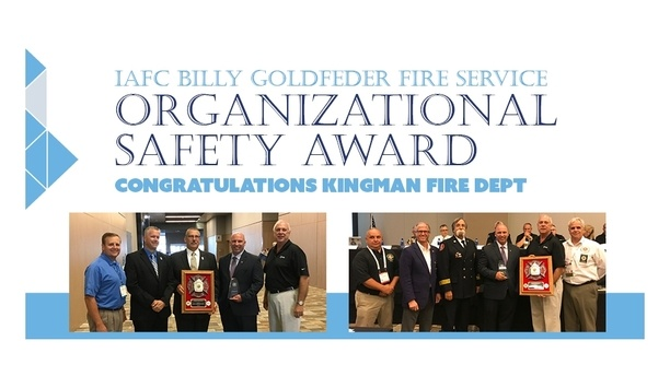 VFIS Congratulates Chief Jake Rhodes For Winning The IAFC Billy Goldfleder Fire Service Award