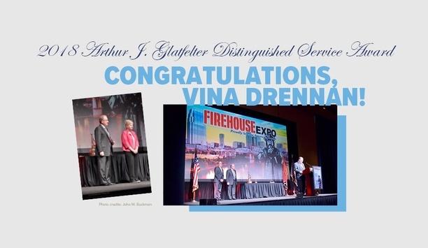 VFIS Awards Vina Drennan With The Arthur J. Glatfelter Distinguished Service Award