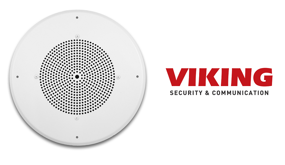 Viking Electronics Introduces 30AE-70V Ceiling Speaker For Distributing Sound From Paging Amplifier