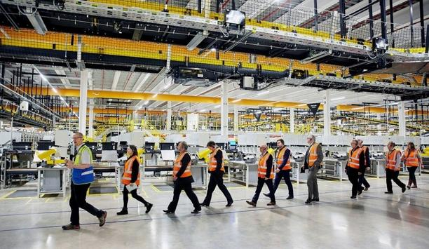 Vimpex Smart+Guard Secures Amazon's Fulfilment Center's Alarm Call-Points