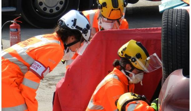 Vimpex Supplies 650 Pacific Rescue Helmets To Emergency Medical Workers At Yorkshire Ambulance Service
