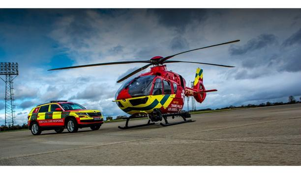 Thames Valley Air Ambulance Opts For Vimpex's Safety Helmets To Protect Their Emergency Medics And Rescue Personnel
