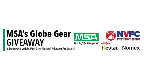 Midland Volunteer Fire Department And Springville Volunteer Fire Department Named Recipients Of MSA, NVFC And DuPont's Globe Gear Giveaway