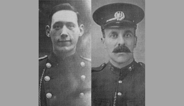 West Midlands Fire Service Commemorates Deaths Of Two Firefighters Lost 100 Years On