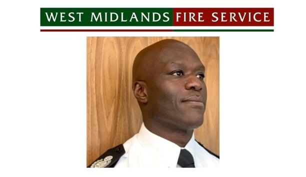 Wayne Brown Appointed As Deputy Chief Fire Officer By West Midlands Fire And Rescue Authority
