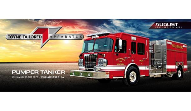 Williamsburg Fire Department Adds Toyne Pumper Tanker To Apparatus Fleet