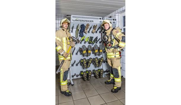 Wintersteiger AG Supplies Drying Panels For Volunteer Fire Department In Ried, Austria
