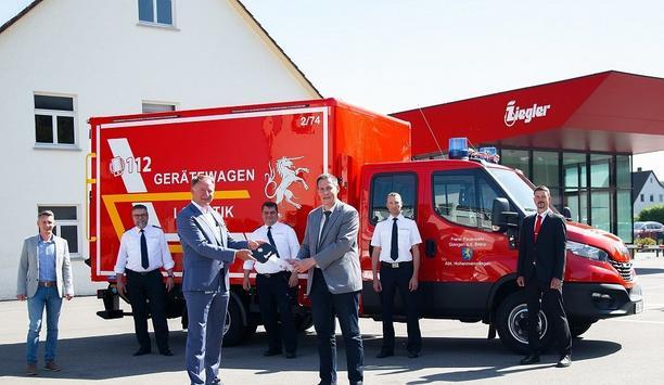 ZIEGLER Supplies GW-L 1 Equipment Vehicle To The Giengen Fire Department