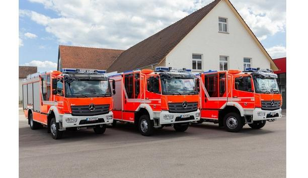 ZIEGLER Delivers Three HLF 20 Vehicles With Breathing Apparatuses To The Municipality Of Planegg
