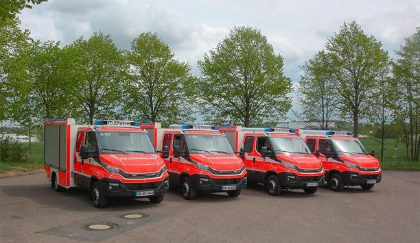 ZIEGLER Delivers Four TSF-W Vehicles To Fire Departments In Germany