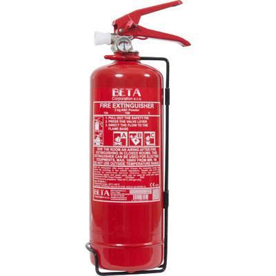 Cervinka 0002BETA 2kg portable powder fire extinguisher