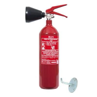 Cervinka 0007A-BETA-S portable carbon dioxide fire extinguisher