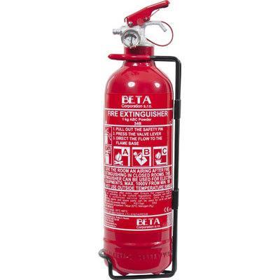 Cervinka 0124 1kg portable powder fire extinguisher