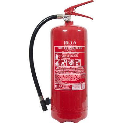 Cervinka 0139 portable powder fire extinguisher