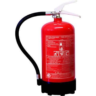 Cervinka 0188 portable powder fire extinguisher