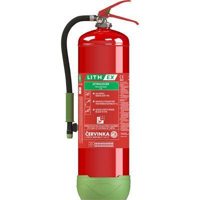 Cervinka 0271 portable lithium battery fire extinguisher