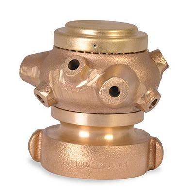 Akron Brass 0535 2 1/2''Cellar Nozzle
