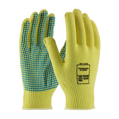 Protective Industrial Products 08-K200PD Seamless Knit Kevlar® Glove with PVC Dot Grip - Light Weight
