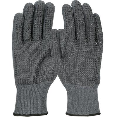 Protective Industrial Products 08-KAB750PDD Seamless Knit ACP / Kevlar® Blended Glove with PVC Dot Grip - Lightweight