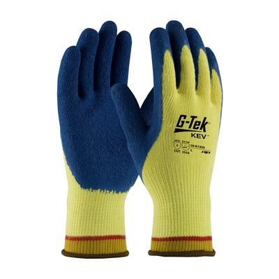 Protective Industrial Products 09-K1300 Seamless Knit Kevlar® Glove with Latex Coated Crinkle Grip on Palm & Fingers