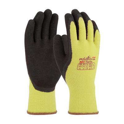 Protective Industrial Products 09-K1350 Seamless Knit Kevlar® / Acrylic Glove with Latex Coated MicroFinish Grip on Palm & Fingers