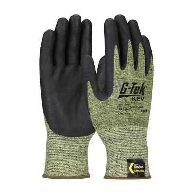 Protective Industrial Products 09-K1600 Seamless Knit Kevlar® Blended Glove with Nitrile Coated Foam Grip on Palm & Fingers