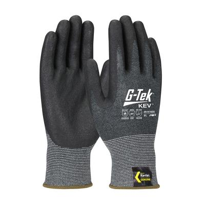 Protective Industrial Products 09-K1630 Seamless Knit Kevlar® Blended Glove with Nitrile Coated Foam Grip on Palm & Fingers