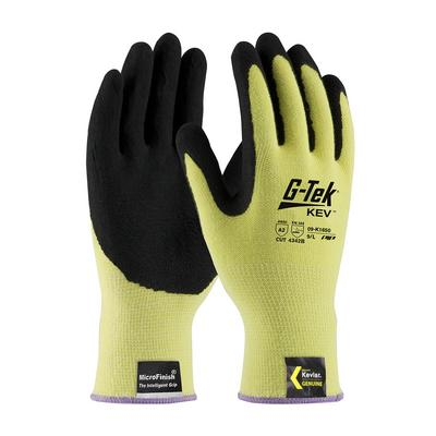 Protective Industrial Products 09-K1650 Seamless Knit Kevlar® Glove with Nitrile Coated MicroFinish Grip on Palm & Fingers