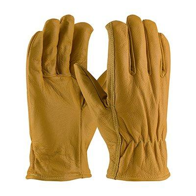 Protective Industrial Products 09-K3700 Top Grain Goatskin Leather Drivers Glove with Kevlar® Liner - Straight Thumb