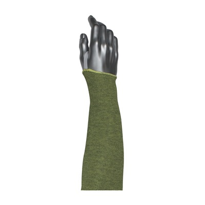 Protective Industrial Products 10-21KVACPMBK-ET Single-Ply ACP / Kevlar® Blended Sleeve with Smart-Fit® and Elastic Thumb