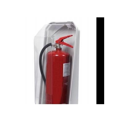 Cervinka 0109 PLASTIC CRYSTAL BOX FOR FIRE EXTINGUISHER 6 KG