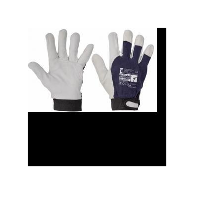 Cervinka 1010068 Blue protective leather gloves