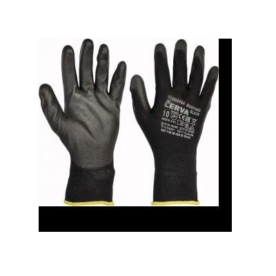 Cervinka 01080004 Black nylon protective gloves