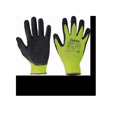 Cervinka 1080029 Green polyester protective gloves