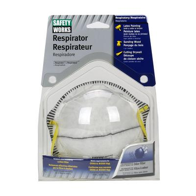 Protective Industrial Products 10102485 N95 Harmful Dust Disposable Respirator with Odor Filter