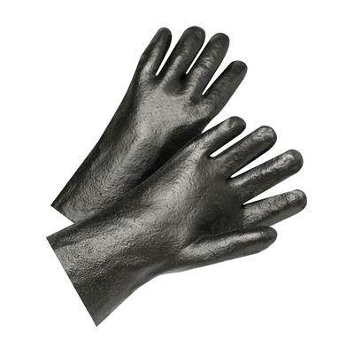 """Protective Industrial Products 1017R PVC Dipped Glove with Interlock Liner and Semi-Rough Finish - 10"""""""