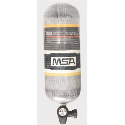 MSA 10183005 2216 PSIG, 30-Min., Low-Pressure Carbon Cylinder, Threaded Connection