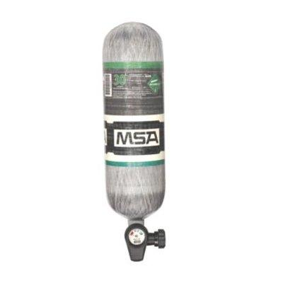 MSA 10183007 4500 PSIG, 30-Min., High-Pressure Carbon Cylinder, Threaded Connection