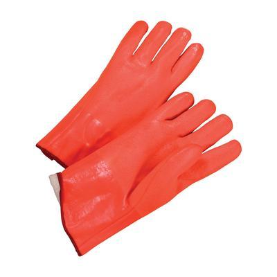 """Protective Industrial Products 1027ORF PVC Dipped Glove with Foam Liner and Rough Finish - 12"""""""