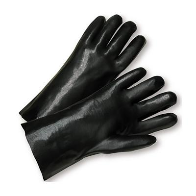 """Protective Industrial Products 1047 PVC Dipped Glove with Interlock Liner and Smooth Finish - 14"""""""