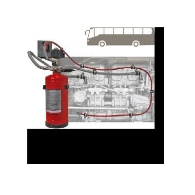 Cervinka 0278 AUTOMATIC EXTINGUISHING SYSTEM BUS VIPER 6 KG