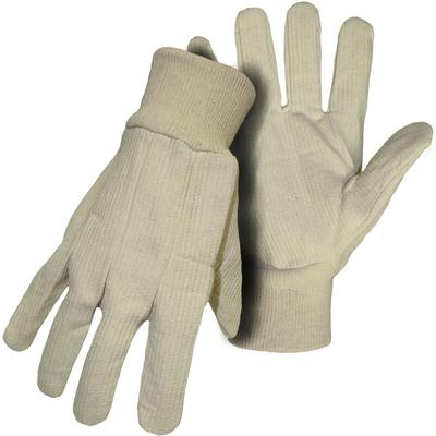 Protective Industrial Products 10CI Cotton Corded Single Palm Glove - Knit Wrist