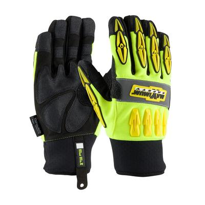 Protective Industrial Products 120-4070 Mad Max™ Thermo with Sandy Grip Synthetic Leather Palm and 3M Thinsulate Lining - Waterproof Liner